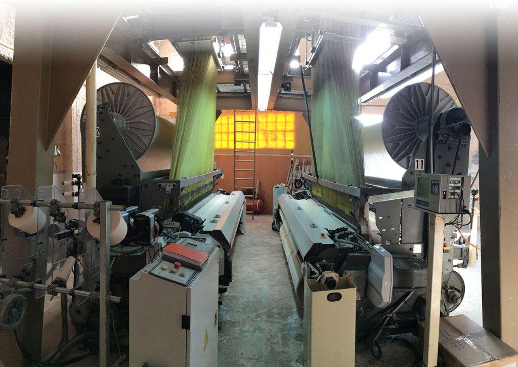 Παραγωγή λευκών ειδών - πετσετών με ηλεκτρονικούς αργαλειούς στην Αττική