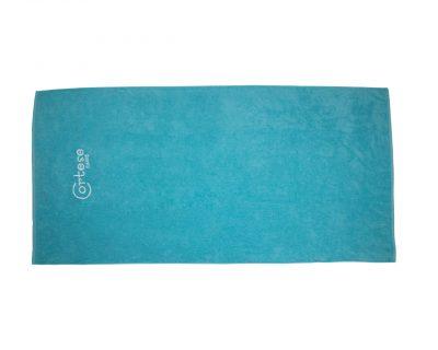 Πετσέτα μονόχρωμη με κέντημα TerryTex