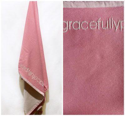 Πετσέτες παρεό με ενδοϋφασμένο λογότυπο TerryTex