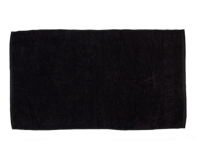 Πετσέτα μονόχρωμη με ενδοϋφασμένο λογότυπο TerryTex
