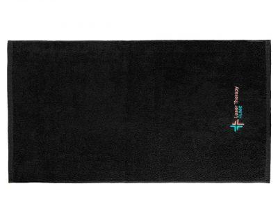 Πετσέτα διαφημιστική μονόχρωμη με κεντημένο λογότυπο TerryTex