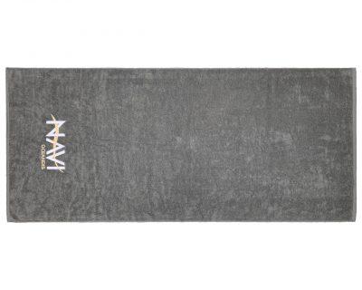 Πετσέτα σκάφους μονόχρωμη με κεντημένο λογότυπο TerryTex
