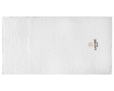 Πετσέτα Spa μονόχρωμη με κεντημένο λογότυπο TerryTex