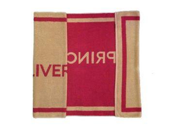 Πετσέτα πισίνας-θαλάσσης δίχρωμη με ενδοϋφασμένο λογότυπο TerryTex