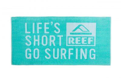 Πετσέτα πισίνας-θαλάσσης βελουτέ δίχρωμη με ενδοϋφασμένο λογότυπο TerryTex
