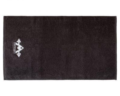 Πετσέτα γυμναστηρίου μονόχρωμη με κεντημένο λογότυπο TerryTex