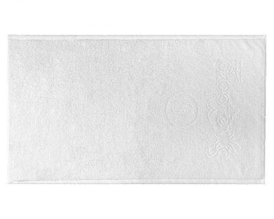 Πετσέτα προσώπου δίκλωνη με ενδοϋφασμένο λογότυπο TerryTex