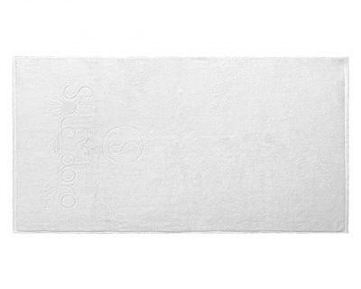 Πετσέτα λουτρού δίκλωνη με ενδοϋφασμένο λογότυπο TerryTex